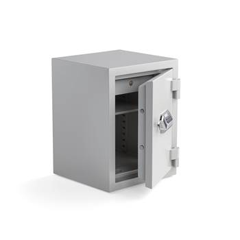 Fireproof document safe, electronic lock, 640x490x465 mm, 45 L