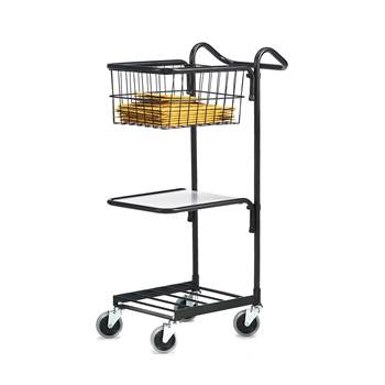 Mini trolley: 1 shelf + 1 basket