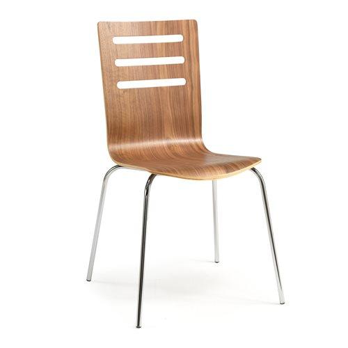 Krzesło MILLA w kolorze orzech