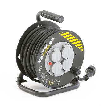 #en Electric cable reel, grounded, 20 meter, IP44