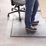 Ergonomic chair mat