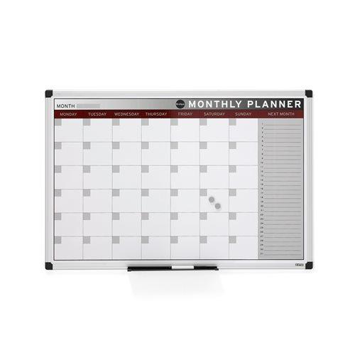 Tablica planu miesięcznego