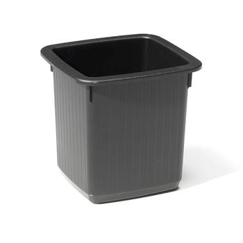 Square waste paper bin, 335x310x320 mm, 20 L