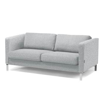 #en Wating room 2,5 seater sofa, ligth grey wool