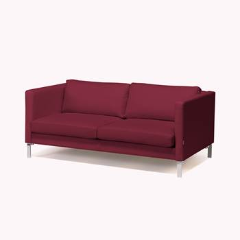 Wating room 3 seater sofa, burgundy fabric