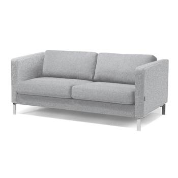 Wating room 3 seater sofa, ligth grey wool
