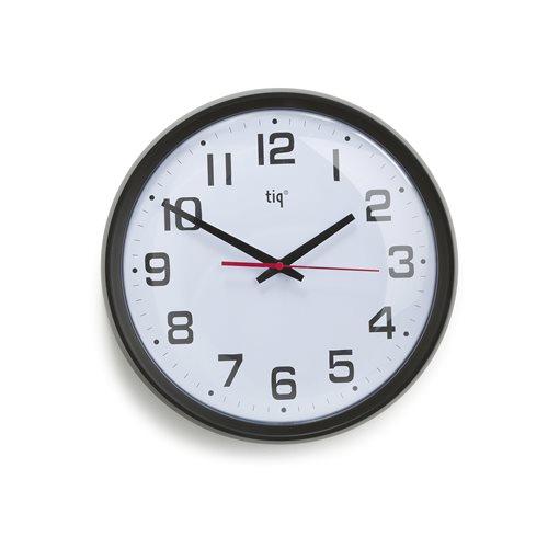 Cichy zegar ścienny o płynnym sekundniku