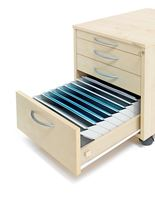 Form compartment for desk drawers