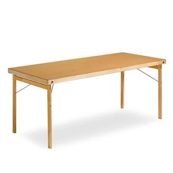 Sammenleggbart bord, 1800x700 mm, tre