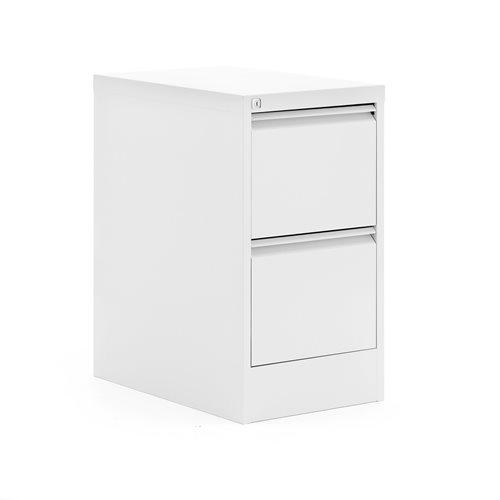 Riippukansiokaappi, 2 laatikkoa, 740x415x630 mm, valkoinen