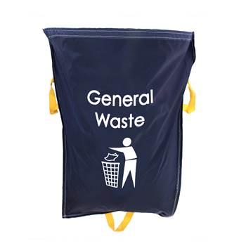Racksack, General waste, 1-pack, 920x1000 mm, 160 L