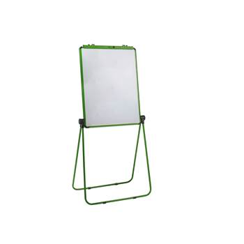 Ultimate flip chart easel, 650x860 mm, green