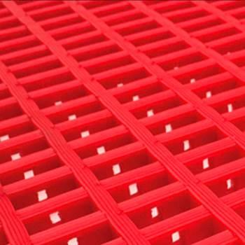 Leisure matting, 600x1200 mm, red