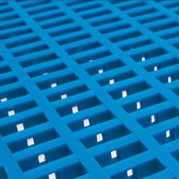Leisure matting, 600x1200 mm, blue