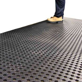 Industrial runner mat, 900x10000 mm, black