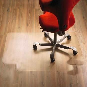 Chair mat, no grippers, lip, 900x1200x2.5 mm