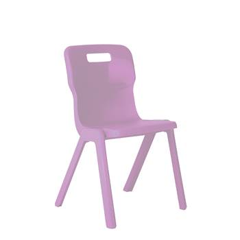 All-in-one plastic chair, H 310 mm, purple