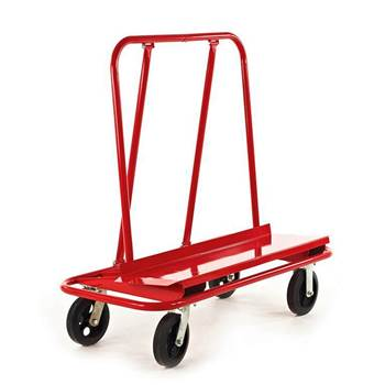 Heavy duty board trolley, 800 kg load, 1190x575x990 mm