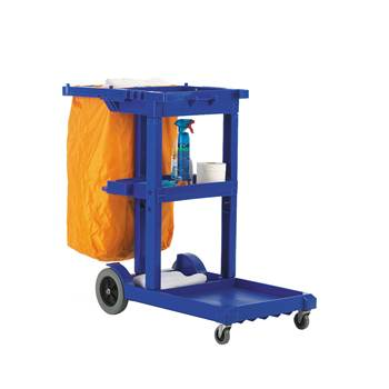 Janitorial cleaning trolley: 100kg