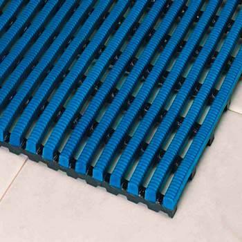 Exclusiv work mat, full roll, 500x10000 mm, light blue