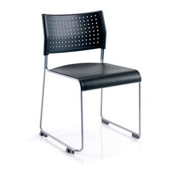 """Twilight"" chair: black"