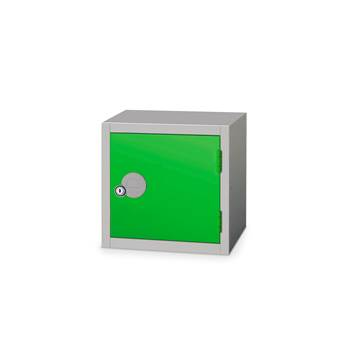 Cube locker, 300x300x300 mm, green