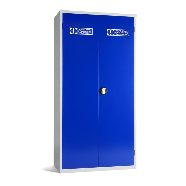 PPE storage cabinet: 3 shelves