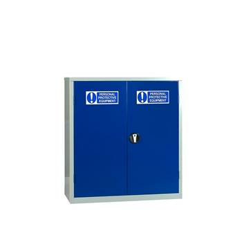 PPE storage cabinet: 1 shelf