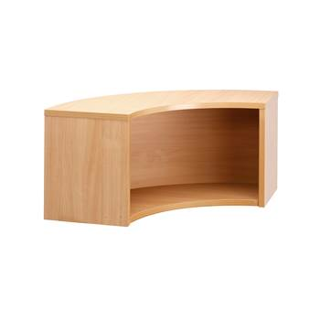Corner counter unit, 800x350x430 mm, beech
