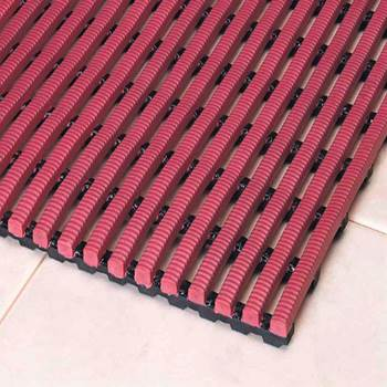 Exclusiv work mat, full roll, 1200x10000 mm, red