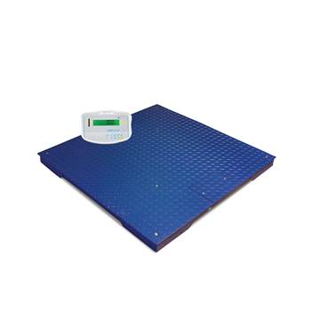 Large platform scales, 1000 kg load, 0.2 kg, 1000x1000 mm