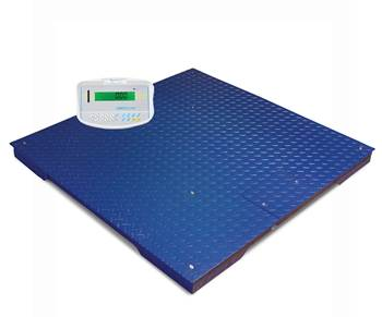 Large platform scales, 1000 kg load, 0.5 kg, 1500x1500 mm