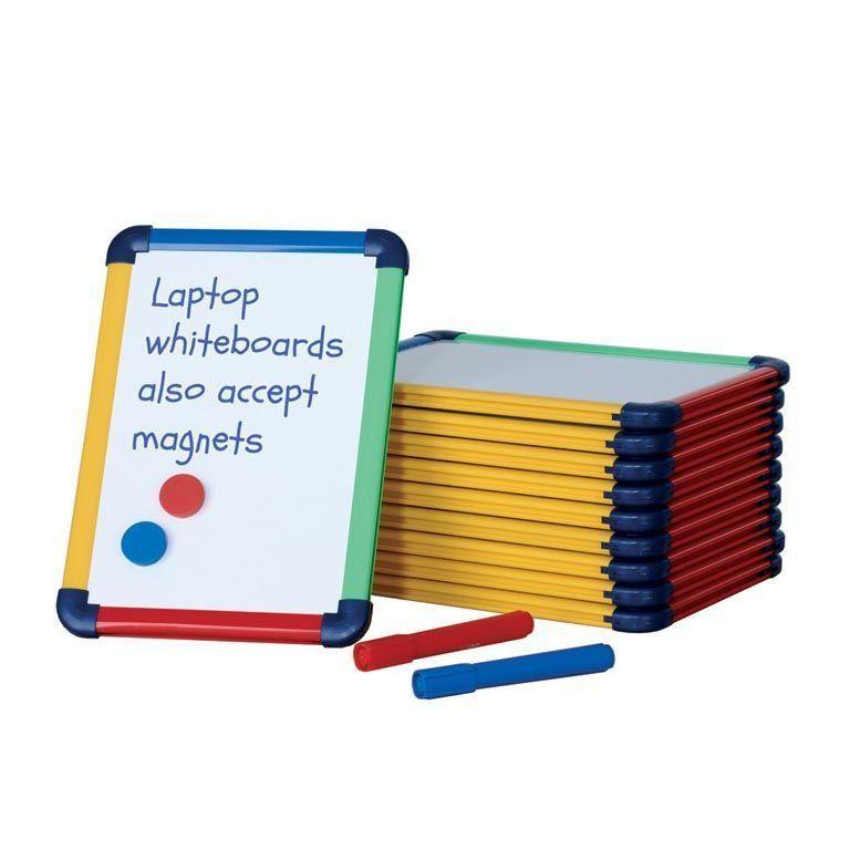 Laptop whiteboard: colour frame: 10 pcs