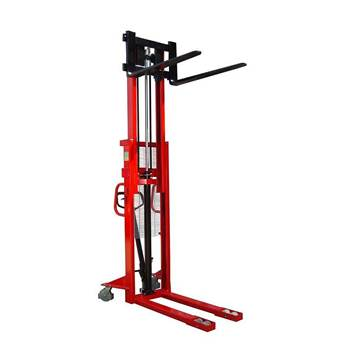 Manual stacker, 1000 kg load, 85-2500 mm lift height