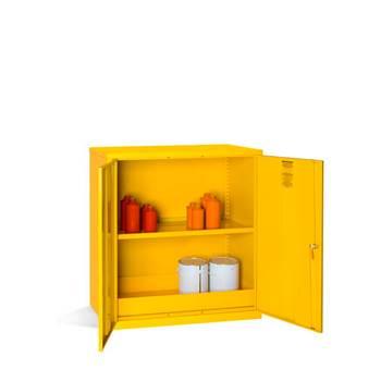 Hazardous substance cabinet, 1000x915x457 mm