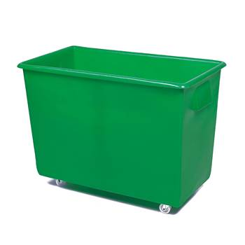 Bottle skip, 620x820x455 mm, 165 L, green