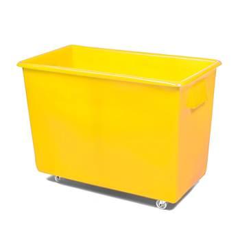 Bottle skip, 620x820x455 mm, 165 L, yellow