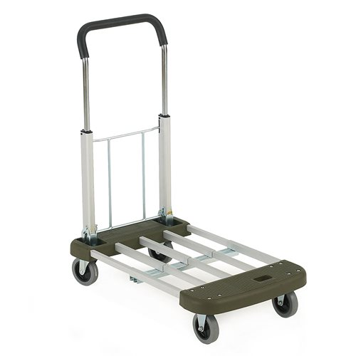 Multi-position foldable trolley: 150 kg