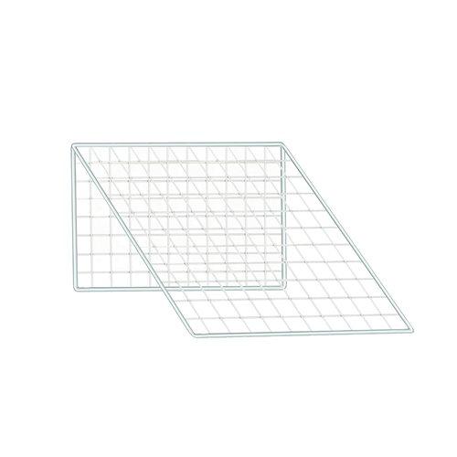 Sloping mesh top