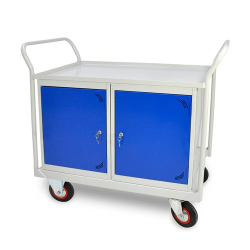 Maintenance trolley: 2 cabinets