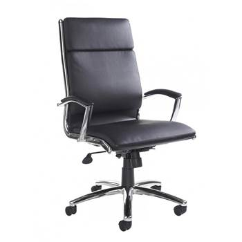 """Florence"" leather-faced executive chair"