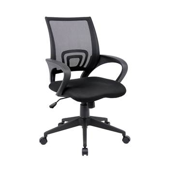 """Lincoln"" mesh-back operator's chair"