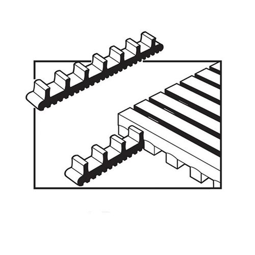 Side-to-end connector clips: 10 pcs