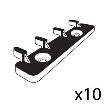 Large floor hooks: 10 pcs