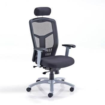 """Fonz"" mesh operator chair"