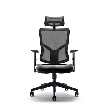 """Kempes"" mesh back office chair"