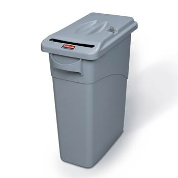 """Slim Jim"" confidential waste bin"