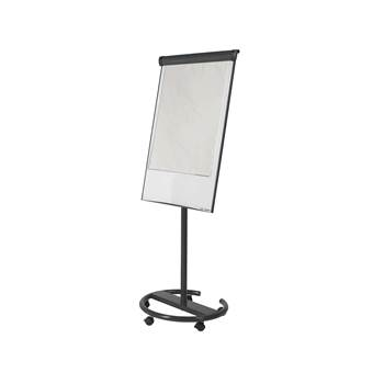 Ultimate mobile flip chart easel, 700x1000 mm, black