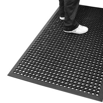 Ramp mat, 800x1200 mm, black