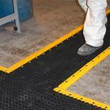 """Lok"" non-slip workplace tiles"